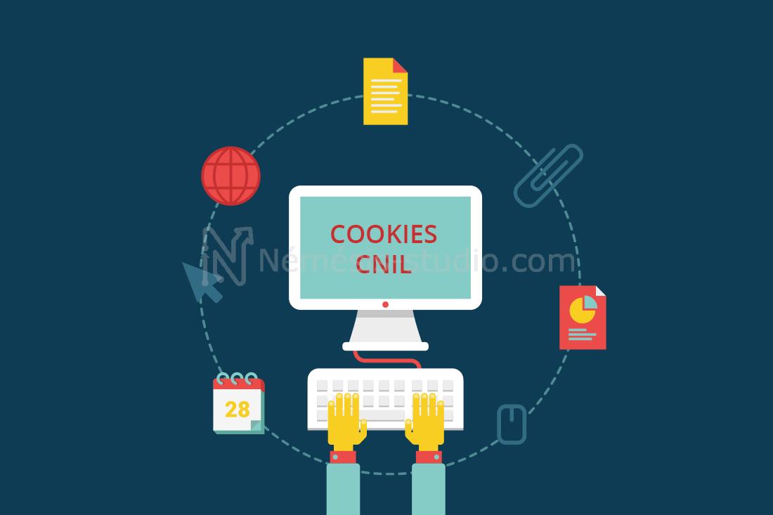 Les cookies et la CNIL par Némésis studio