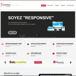 Site de Némésis studio en 2014