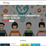 Site de Némésis studio en 2015