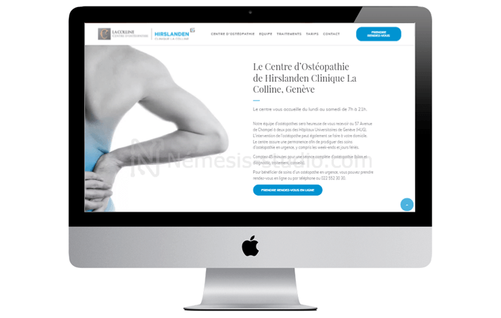 site-one-page-osteopathe-presentation