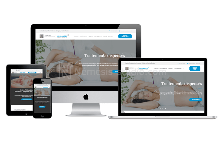 site-one-page-osteopathe-responsive-design